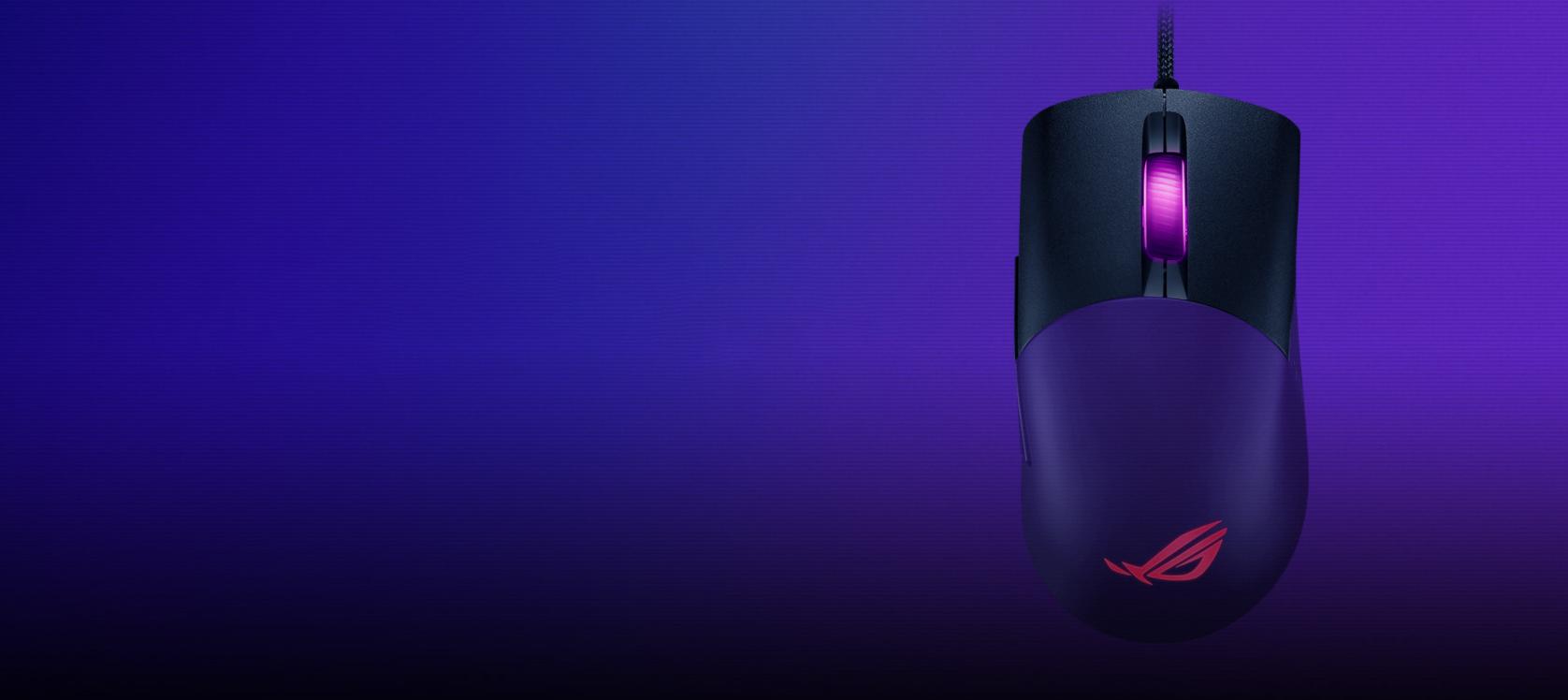 Chuột Asus ROG Keris (USB/RGB/màu đen) có thiết kế nút bấm bằng chất liệu cao cấp