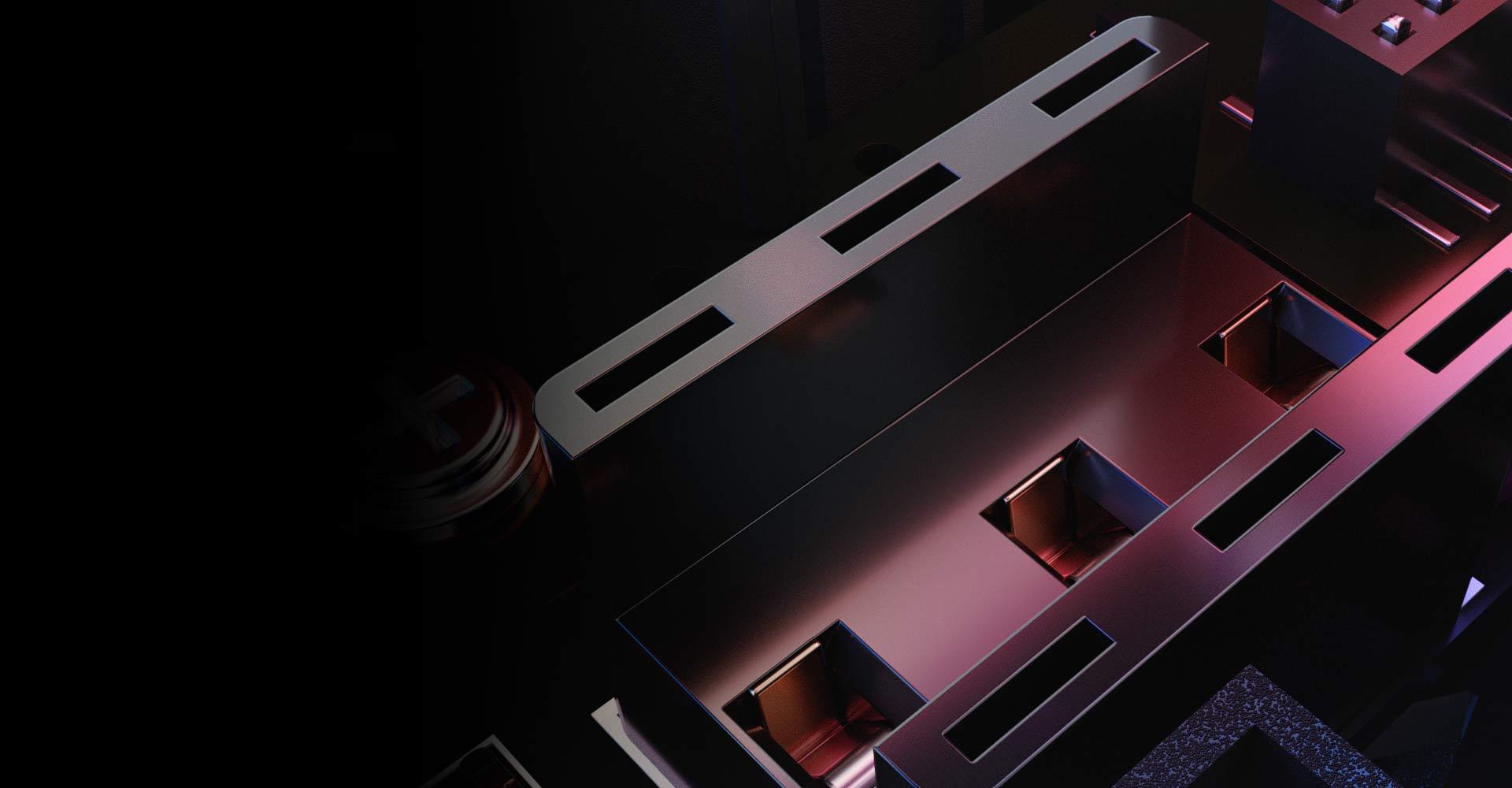 Chuột Asus ROG Keris (USB/RGB/màu đen) sử dụng thiết kế thay switch nóng độc quyền