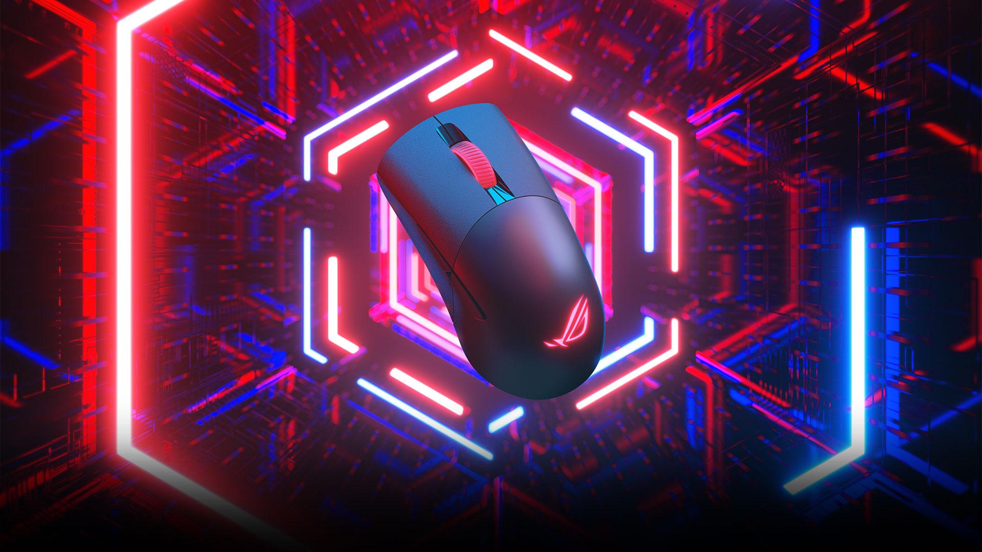 Giới thiệu Chuột không dây Asus ROG Keris (USB/RGB/màu đen)