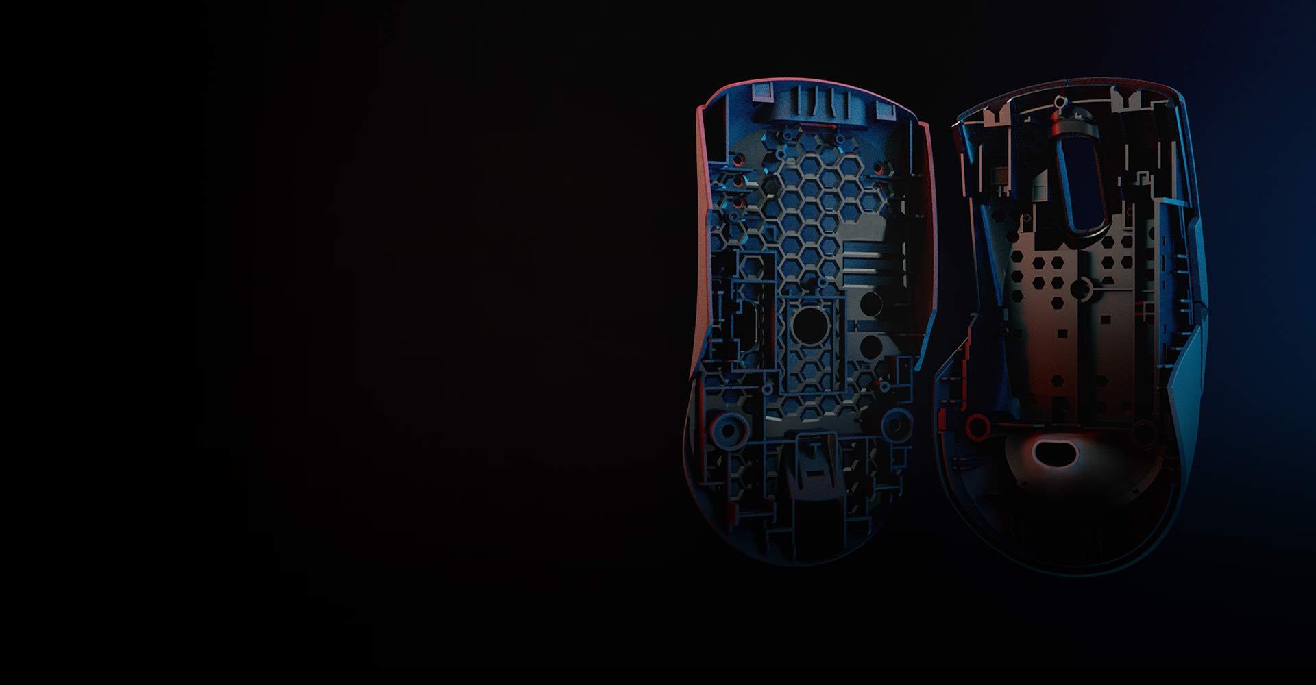 Chuột không dây Asus ROG Keris (USB/RGB/màu đen) có trọng lượng rất nhẹ