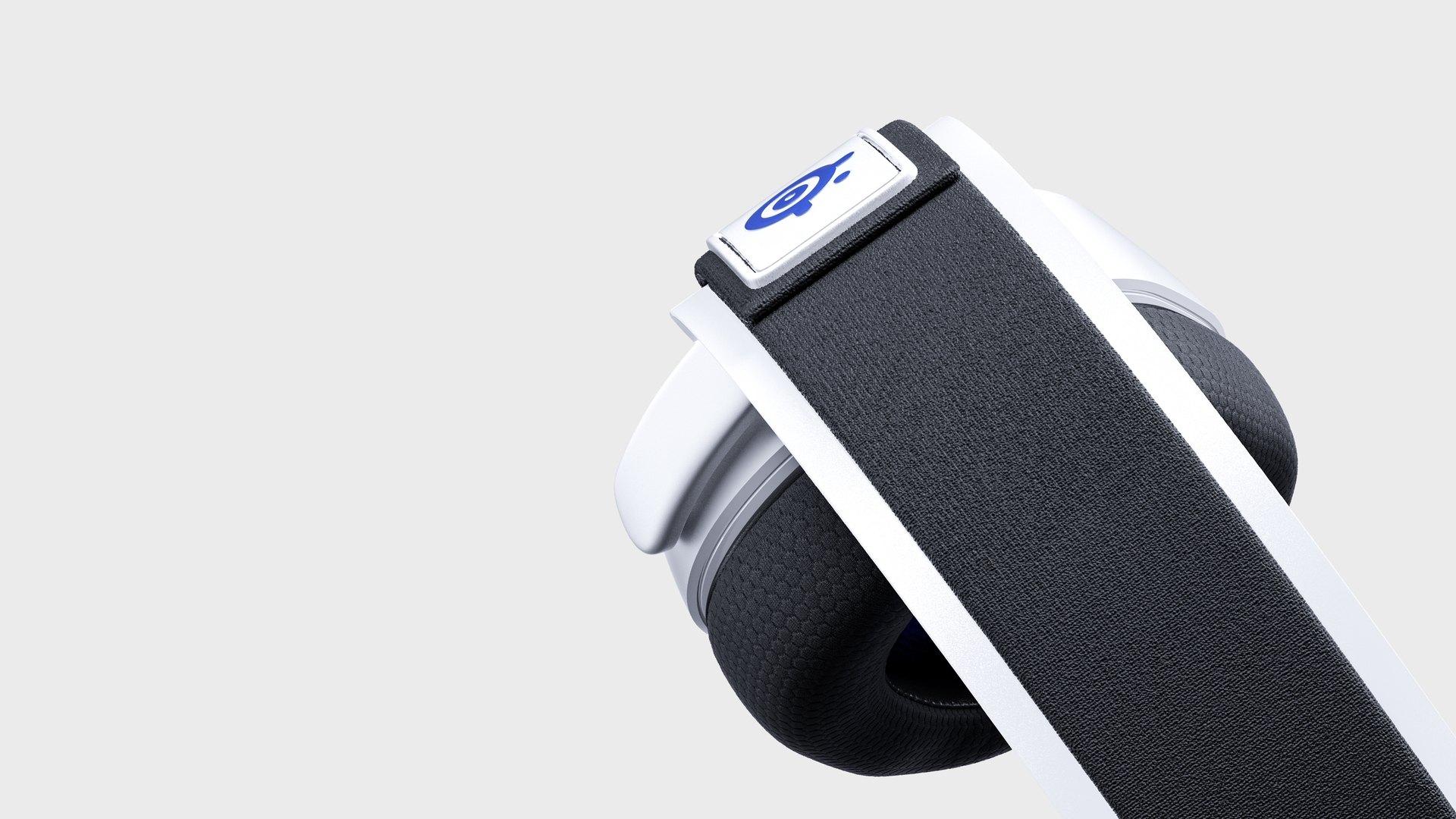 Tai nghe Steelseries Arctis 7P White WL HS-00021 - 61467 có thiết kế gọng kim loại cao cấp