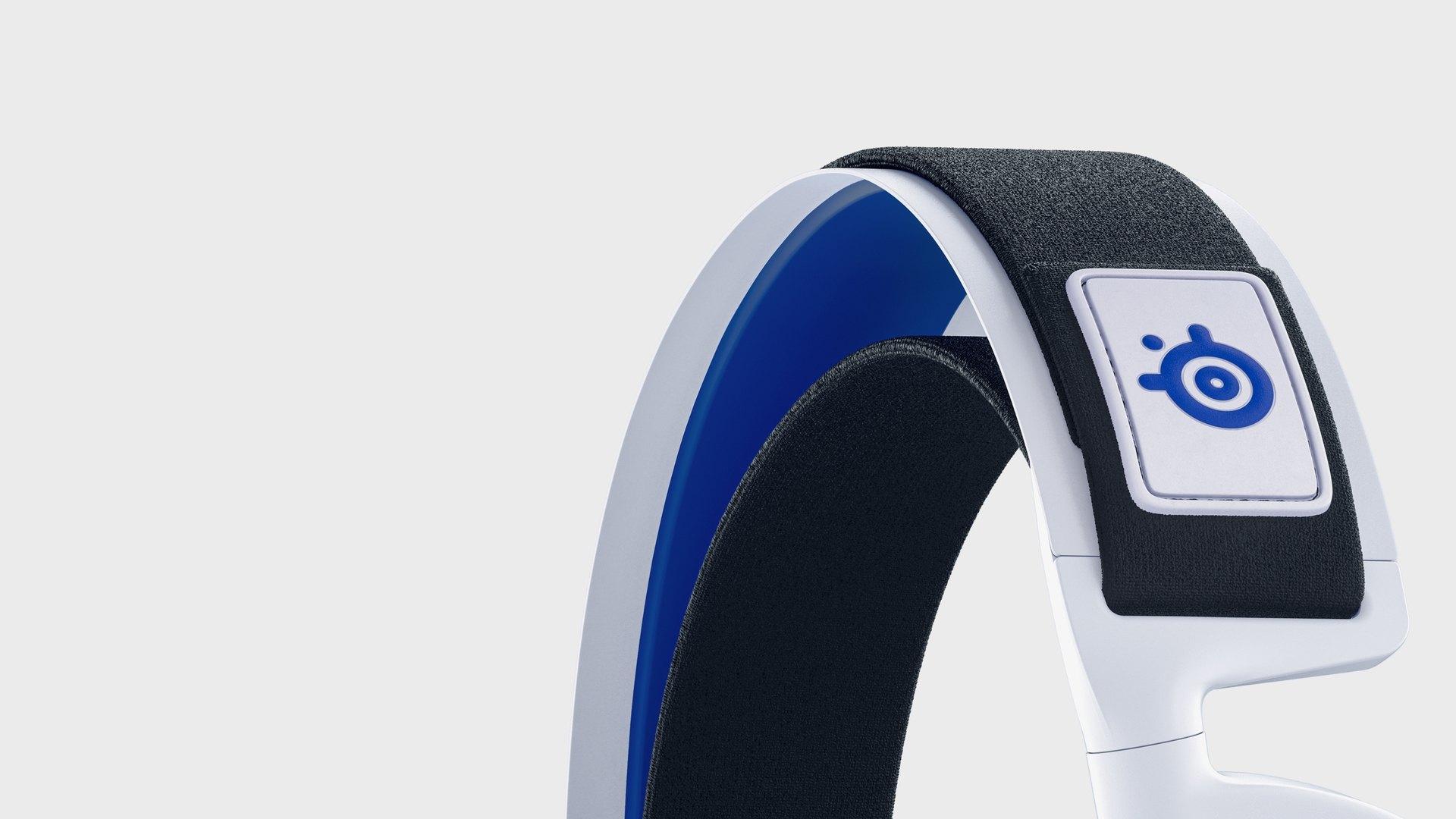 Tai nghe Steelseries Arctis 7P White WL HS-00021 - 61467 có thiết kế đệm đầu bắt mắt