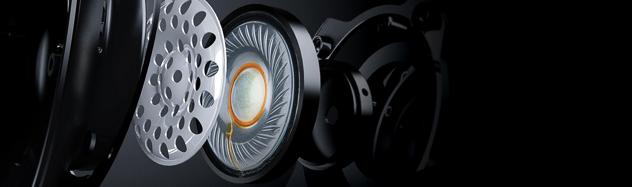Tai nghe Kingston HyperX Cloud Stinger S_HHSS1S-AA-BK/G sở hữu driver 50mm cho âm thanh sống động