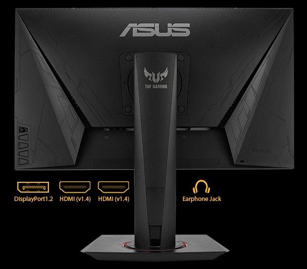 Màn hình Asus VG259Q kết nối