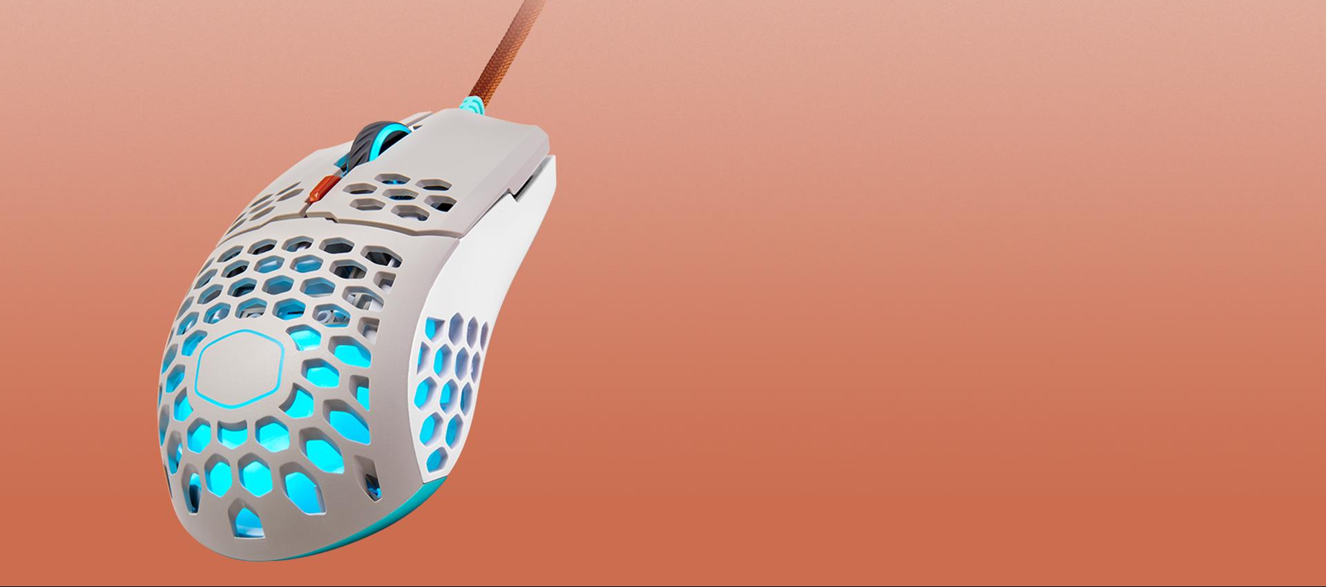 Giới thiệu  Chuột Cooler Master MM711 Retro (USB/RGB/Trắng)