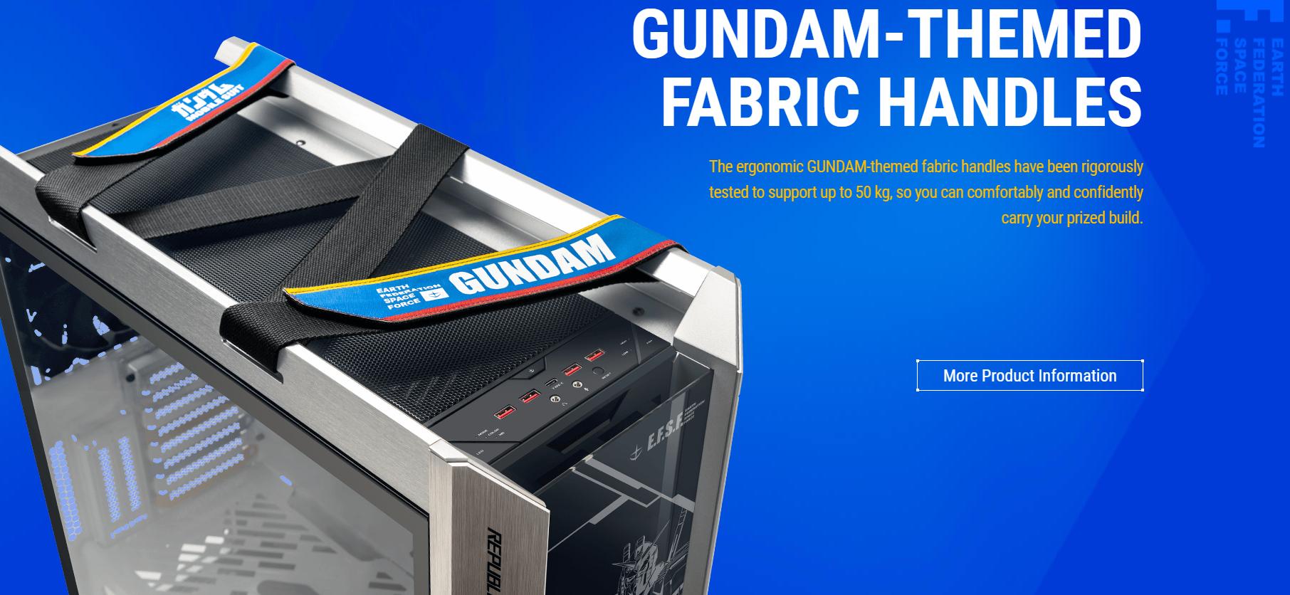 Case ASUS ROG STRIX HELIOS GX601- GUNDAM giới thiệu 6