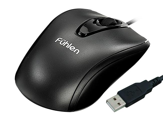 Chuột Fuhlen L102 Optical Black USB có hiệu năng sử dụng tốt