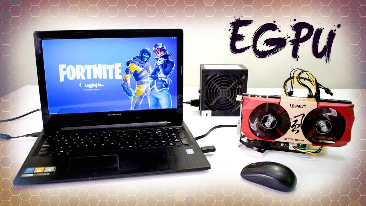 eGPU là gi ? Laptop có thể gắn card đồ họa rời như PC ?