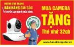 Tặng khách hàng thẻ nhớ 32G khi mua Camera Vantech VT - 6300B