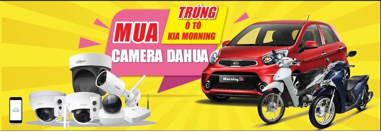 Khuyến mãi camera Dahua mùa World Cup nhận đúp xe sang.