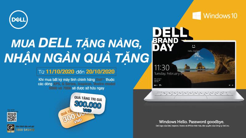 """Chương trình Khuyến mãi """"Mua Dell tặng nàng, nhận ngàn quà tặng"""""""