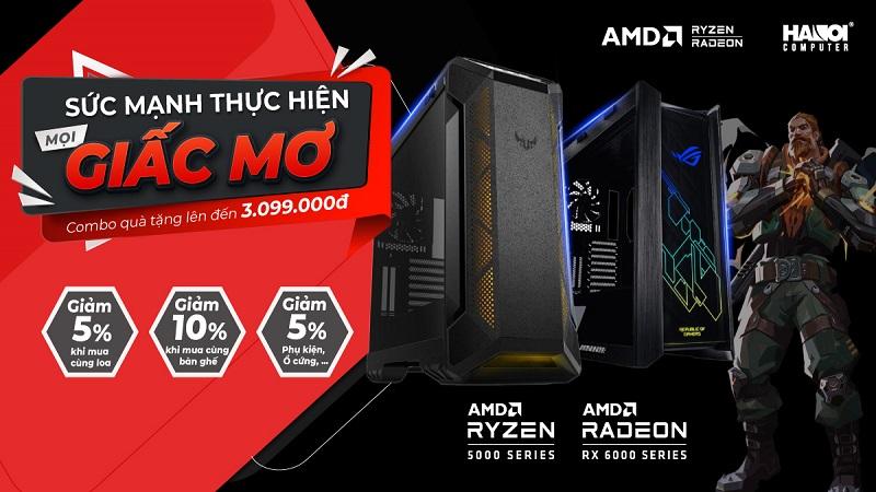 Chạm tới giấc mơ mọi game thủ cùng bội đôi AMD cực chất