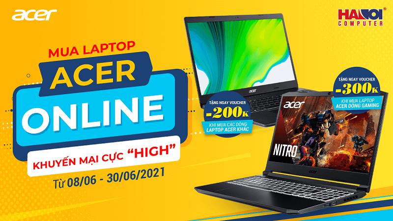 Mua Acer Online - Khuyến mại cực High
