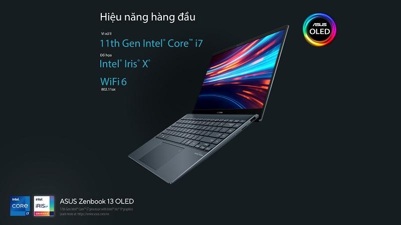 Zenbook 13 OLED UX325: Tuyệt Phẩm Màn Hình Cho Trải Nghiệm Thị Giác Đỉnh Cao