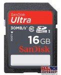 Thẻ nhớ SanDisk SD Ultra 16GB Class 10
