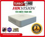 Đầu ghi16 kênh TVI Hikvision DS-7116HGHI -F1