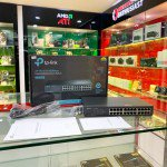 Switch TP-Link TL-SF1024D (24Port 10/100Mbps - Vỏ kim loại)