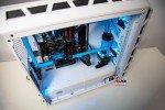 Modding PC CoolerMaster H500P WHITE MESH HT-31 AZURE BLUE KOW EDITION