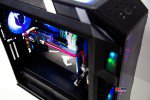 Trọn bộ tản nhiệt nước PC CoolerMaster H500M HT-38 SCARLETT RED (Lắp ráp theo yêu cầu)