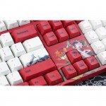 Bàn phím cơ Varmilo VA108M Koi - Mechanical Cherry Red switch