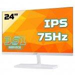 Màn hình Acer ED245QA (23.6inch/FHD/IPS/75Hz/4ms//250nits/HDMI+VGA/màu trắng)