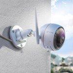 Camera Wifi EZVIZ CS-CV310-A0-3C2WFRL (Hỗ trợ đèn ánh sáng trắng, có màu ban đêm, đèn & còi báo động, tự ghi âm lời cảnh báo)