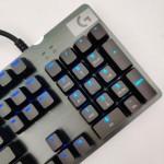 Bàn phím cơ Logitech G512 Lightsync RGB GX Clicky Blue switch