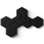 Bộ 6 tấm tiêu âm Elgato Wave Panels - Starter Kit Black