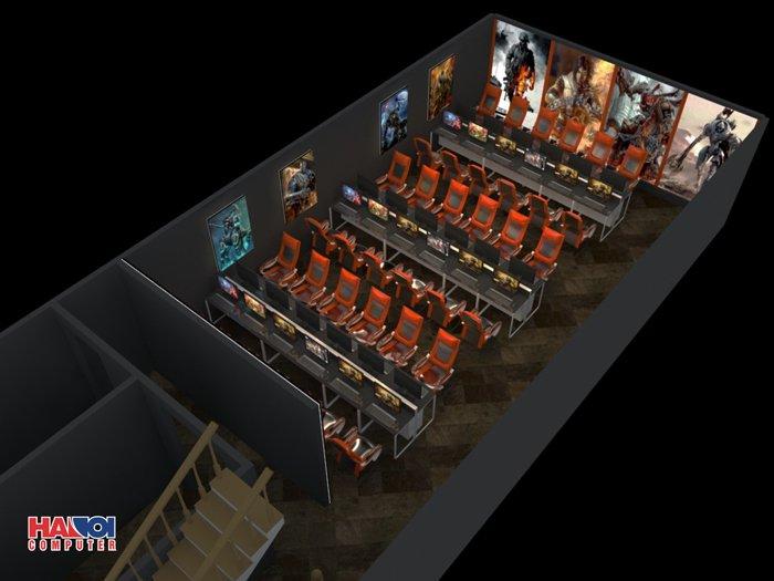 Gói lắp đặt tiêu chuẩn cho 60 Máy Game Net