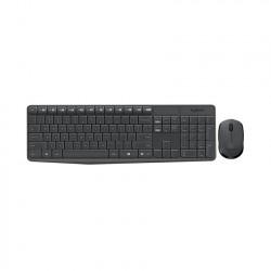Bộ bàn phím chuột không dây Logitech MK235 Wireless