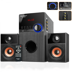 Loa Bluetooth SoundMax A2123, karaoke - 2.1