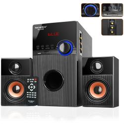 Loa Bluetooth SoundMax A2123, karaoke - 2.1