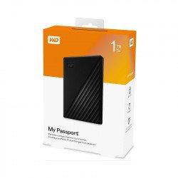 Ổ Cứng Di Động WD My Passport 1TB 2.5 inch USB 3.0 đen - WDBYVG0010BBK-WESN