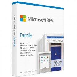 Phần mềm Microsoft 365 Family English APAC EM Subscr 1YR Medialess P6 (6GQ-01144)