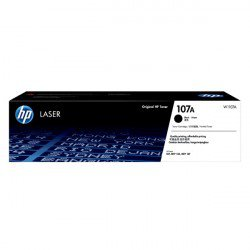 Hộp mực HP 107A (Mực laser, Màu đen) (W1107A) (tương thích dòng máy in HP 107 và 135)