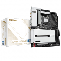 Mainboard Gigabyte W480 VISION D(Intel W480, Socket LGA 1200, ATX, 4 khe RAM DDR4)