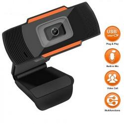 Webcam High Resolution Đen đỏ (480P Có MIC)