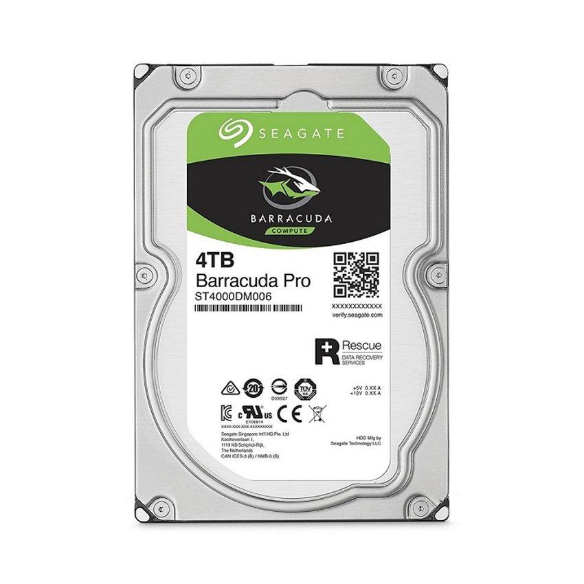 Ổ cứng HDD Seagate 4TB 3.5 inch 5400RPM, SATA3 6GB/s, 64MB Cache