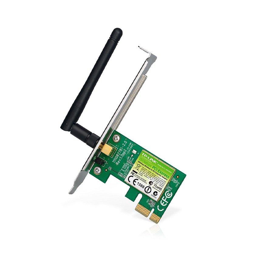 Card mạng không dây PCI Express TP-Link TL-WN781ND  Wireless N150Mbps