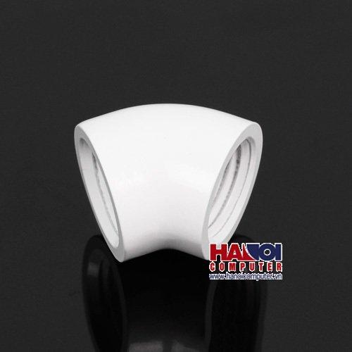 Fitting Barrow Adapter 45* Female - Female Deluxe White