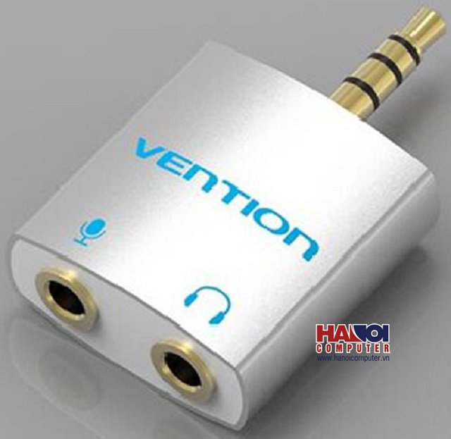 Giắc chuyển Audio Từ 1 ra 2 Vention BDBW0