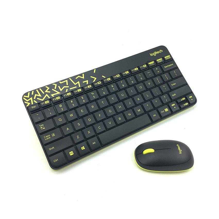 Bộ bàn phím chuột không dây Logitech MK240 Nano Wireless
