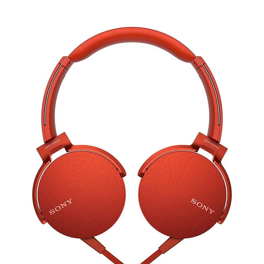 Tai nghe Sony MDR-XB550AP Đỏ