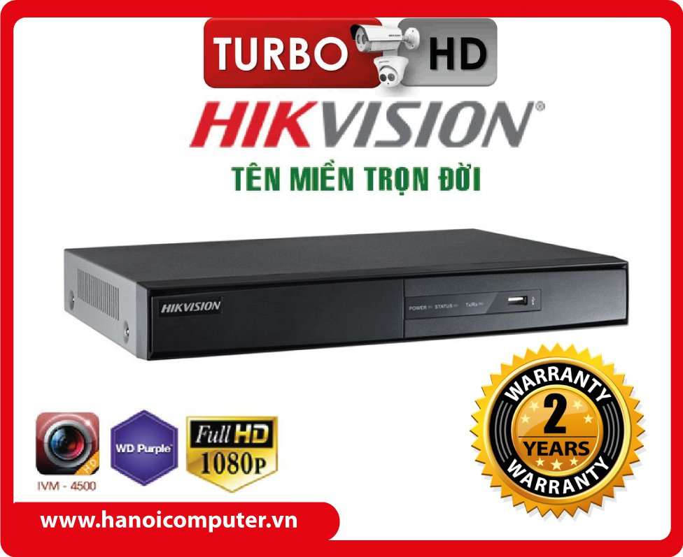 Đầu ghi 32 kênh TVI Hikvision DS-7332HDTVI -U2