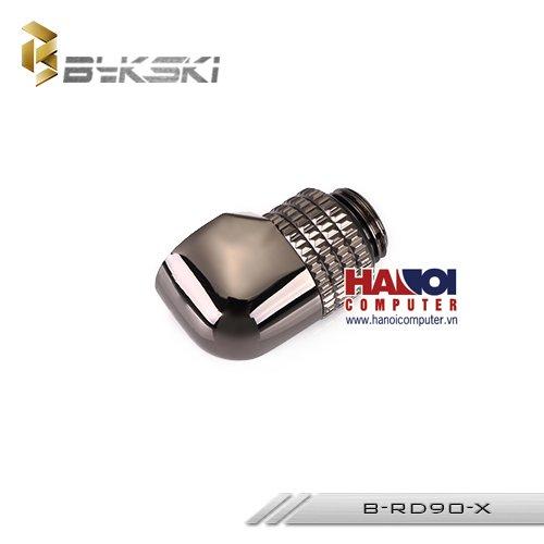 Fitting Bykski Adapter 90* Male - Female Rotary Black Nickel.