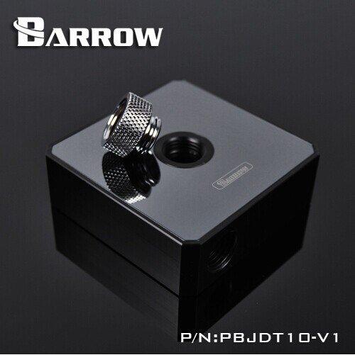 Pump Top Barrow DDC Jet Black