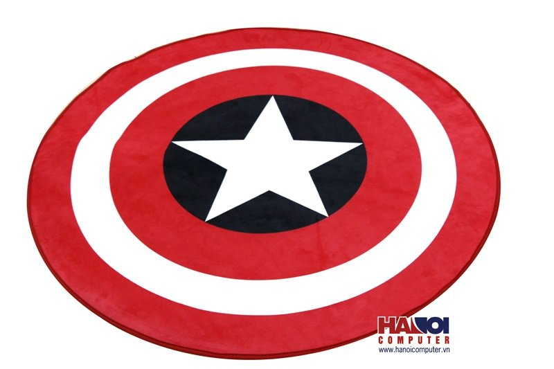 Thảm Trải Sàn AKRacing Captain Black/Red/White