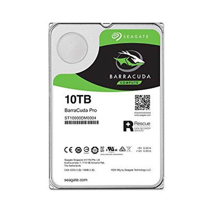 Ổ cứng HDD Seagate Barracuda Pro 10TB 3.5 inch 7200RPM, SATA3 6GB/s, 256MB Cache - (ST10000DM0004)