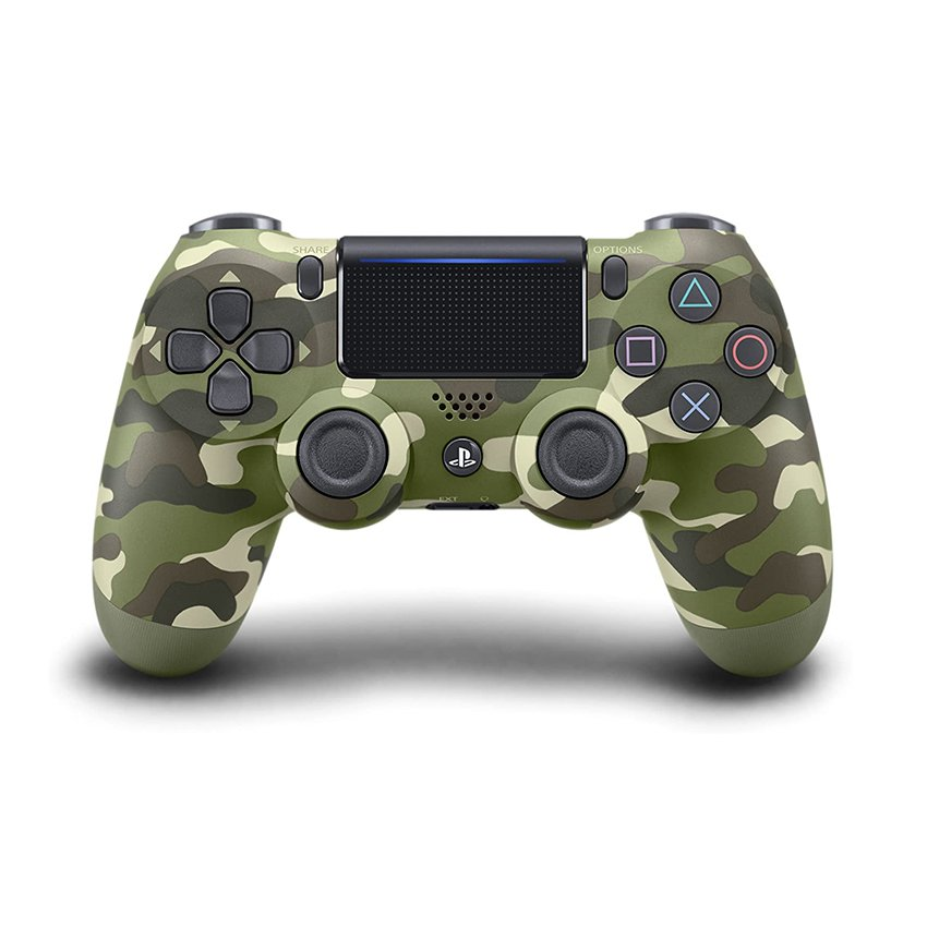 Tay cầm chơi game không dây PS4 SonyDUALSHOCK4ControllerGreen CUH-ZCT2G16