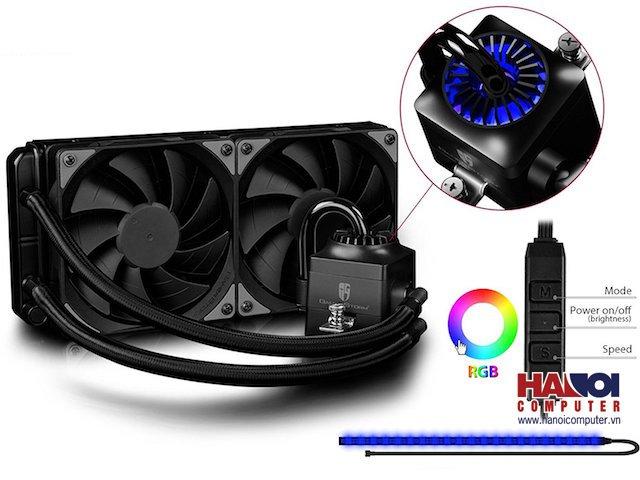 Tản nhiệt nước CPU Deepcool Captain 240 EX RGB version